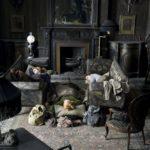 Le salon de la famille Addams