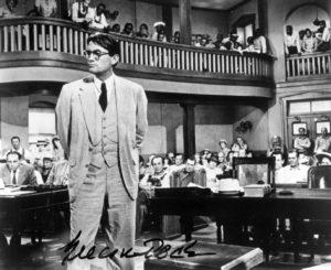 Atticus Finch durant le procès dans le film de 1963