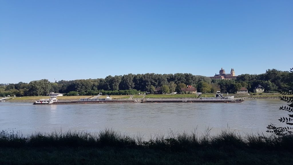 Le Danube à Melk. Blog Scribendo