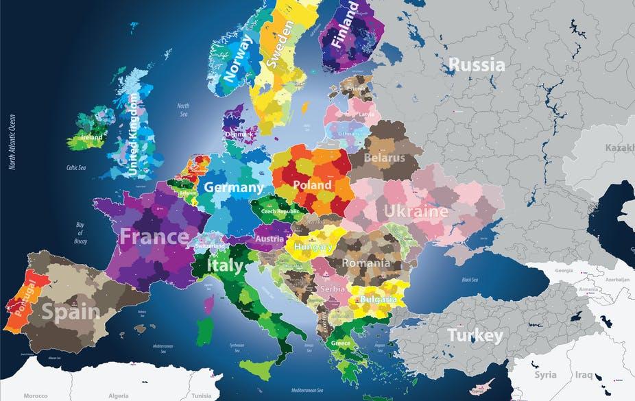 carte d'Europe blog Scribendo