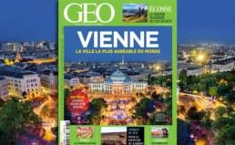 Couverture de Geo magazine sur Vinne article de blog Scribendo