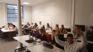 How to write on social medias ? Trainig course for IRAM Medias's students, Jean Monnet University Scribendo