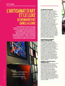 Scribendo. dossier artisanat dàrt et luxe se réinventent dans la Loire Maestria Mag