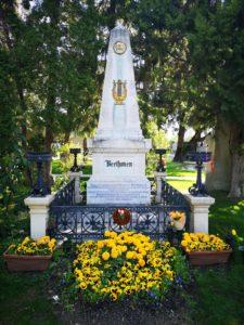 Beethoven Zentralfriedhof Wien blog Scribendo tombe de Beethoven au Zentralfriedhof