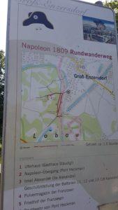Napoleon Rundwanderweg Lobau Wien blog Scribendo sentier Napoléon Vienne